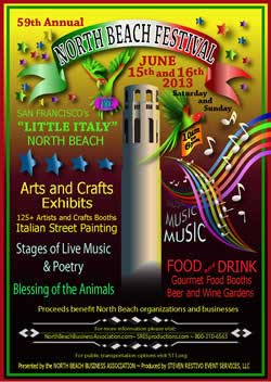 North Beach Festival 2013 - Poster