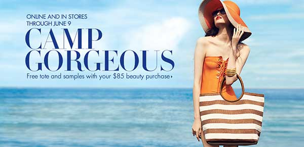 Camp Gorgeous - Free Tote - Neiman Marchus
